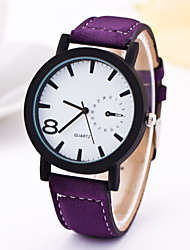 Ladies Fashionable Leisure Butterfly Retro Belt Student Watch Leather Band Cool Watches Unique Watches