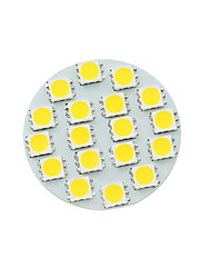 G4 GU4 GZ4 MR11 5W 18SMD 5054 450-480LM 3500-6500K White/Cold/ Warm White LED Spotlight Bulb DC12V