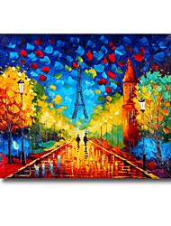 50 * 60cm mano paisaje pintura al óleo pintada