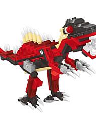 dr wan, Le blocs de construction dinosaures oeufs oeuf tordu pour contenir des jouets éducatifs pour les enfants 6801 arrow back dragons