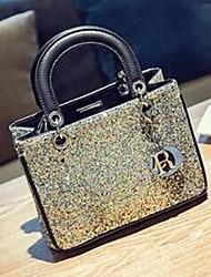 Women PU Shoulder Bag / Tote Gold