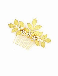Women's / Flower Girl's Alloy Headpiece-Wedding / Special Occasion Hair Combs 1 Piece