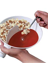 calhar sabor tigela krispy gourmet plástico separado taças tempero