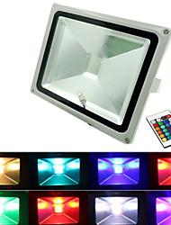 30w 3000lm rgb conduit lumières crues 16 couleurs étanches Projecteur LED (12v)