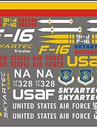 Allgemeines F16 Skyartec F16-09 Teile & Zubehör RC Quadrocopter / RC Flugzeuge / RC Hubschrauber Rot / Weiß / Gelb