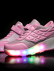LED Shoes Girls' Shoes / Casual Roller Skate Shoes / Fashion Sneakers Pink / Black and Red / Black and White