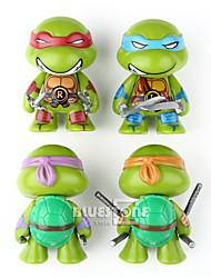 tortugas Ninja Otros PVC Las figuras de acción del anime Juegos de construcción muñeca de juguete