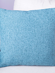 Pure Color Linen Cushion Cover-Blue