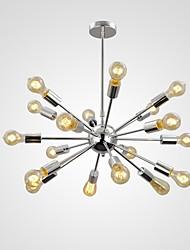 MAX:60W Lampe suspendue ,  Rétro Chromé Fonctionnalité for Style mini Métal Salle à manger / Bureau/Bureau de maison / Entrée / Couloir