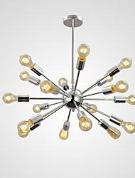 Luzes Pingente ,  Retro Cromado Característica for Estilo Mini Metal Sala de Jantar Quarto de Estudo/Escritório Entrada Corredor