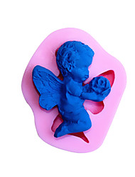 Angel Shaped Silicone Fondant Cake Cake Chocolate Silicone Molds,Decoration Tools Bakeware