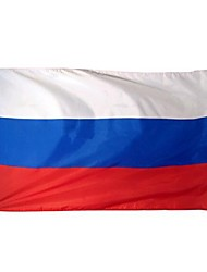 New Large 3X5 Feet Russian Flag Polyester The Russia National Banner Home Decor (No flagpole)