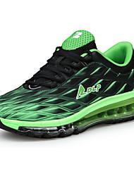 laufende Schuhe der Frauen Tüll flache Ferse Komfort Wohnungen sportlich blau / grün / pink