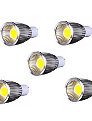 5pcs MORSEN® 9W GU10 700-750LM Led Cob Spot Light Lamp Bulb(85-265V)