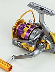 Спиннинговые катушки 5.5:1 12 Шариковые подшипники Заменяемый Морское рыболовство / Спиннинг / Пресноводная рыбалка / Обычная рыбалка-