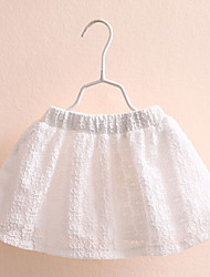 BK 3-6 Y Girls Simple White Skirts Short 2016 Summer Kids' Clothing
