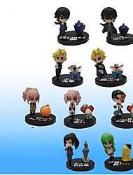 Figuras de Ação Anime Inspirado por Código Gease Fantasias PVC 5 CM modelo Brinquedos Boneca de Brinquedo