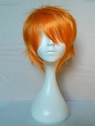 New Arrival Cosplay Wig Short Straight Blonde Animated Synthetic Hair Wigs Party Wig Cartoon Wig