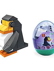 dr wan, Le blocs de construction de mini œufs des animaux blocs de construction d'assemblage de puzzle emballage de pingouin jouets