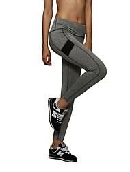 De las mujeres Pantalones Deportivo-Activo Elástico-Poliéster