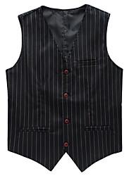 Men's Fashion Casual Striped Vest Occupation