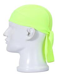 Велосипедная шапочка Банданы Шапки Велоспорт Дышащий Быстровысыхающий Впитывает пот и влагу Защита от солнечных лучей унисекс Белый