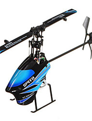 WLtoys V933 2.4GHz 6 Channel Flybarless RC Helicopter RTF 3D Fly With LCD  RC Ar. Drone Aircraft