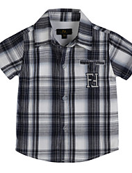 Boy's Cotton Shirt,Summer Check