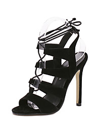 Women's Shoes Leatherette Stiletto Heel Heels / Fashion Boots /Shoes & Matching Bags / NoveltySandals / Heels / Boots /