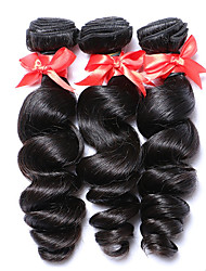 "8-30""Peruvian Virgin Hair Loose Wave Human Hair Weave 3Pcs/Lot  6A Grade Peruvian Loose Wave"