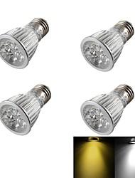 5W E26/E27 Faretti LED R63 5 LED ad alta intesità 400 lm Bianco caldo / Luce fredda Intensità regolabile / DecorativoAC 85-265 / AC