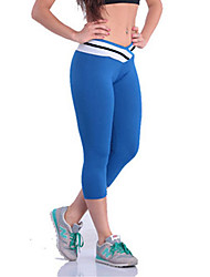 Damen Einfarbig Legging,Polyester Elasthan Medium