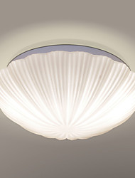 Modern Plexiglass Ceiling Lamp Metal Flush Mount Living Room / Bedroom / Dining Room /Kids Room