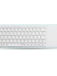 Original Rapoo E6700 Bluetooth Touch Keyboard 5.6mm Slim Design Support Windows8 / RT White/Blue/Yellow/Red