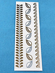 Wedding Paper Women Gold for Hair Tattoo Stickers