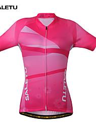 SALETU Women QuickDry Cycling Jersey Outdoor Sports  Jacket Bicycle Bike Short Sleeve Shirt  Clothing