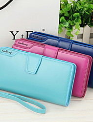 ZX Zipper Multifunction Checkbook Wallet Business Card Holder Clutch Coin Purse