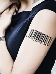 5 Tatuagens Adesivas Outros / Série dos desenhos animados não tóxica / Estampado / Á Prova d'águaFeminino / Masculino / Adulto /