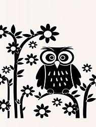 Animaux Botanique Bande dessinée Romance Floral Stickers muraux Autocollants avion Autocollants muraux décoratifs Autocollants photo