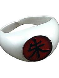 Schmuck Inspiriert von Naruto Itachi Uchiha Anime Cosplay Accessoires Ring Weiß / Rot / Gelb / Blau / Lila / Grün Legierung Mann / Frau