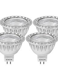 5W GU5.3(MR16) LED Spot Lampen MR16 1 COB 400-450 lm Warmes Weiß / Kühles Weiß Dekorativ DC 12 / AC 12 V 4 Stück