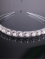 Full-Crystal 8 Shape Headband for Wedding Party