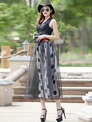 VERRAGEE® Women's Knee-length Skirt-B009