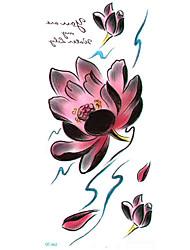 longa coloridos produtos de alta solução de sexo flores de lótus círculo designer Flash temporária taty tatoo etiqueta