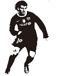 Shapes Football Star  Wall Stickers Abstract / Sports / 3D Wall Stickers Plane Wall Stickers,vinyl 56*105cm