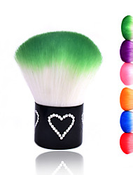 New Colorful Nail Tools Brush for Acrylic & UV Gel Nail Art Dust Cleaner Nail Dust Brushes(Random Color)