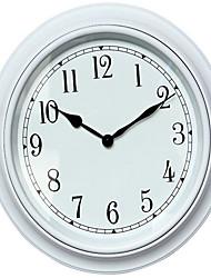 Круглый Модерн Настенные часы,Прочее Пластик 40*40*4.7