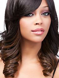 New Arrival Beautiful Curly Long Size Synthetic Hair Wig