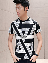 Fashion Tees 2016 Man Casual T-Shirt Men Cotton Letter Printed T-Shirt Sport Camp Men T Shirts