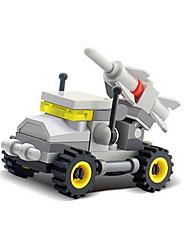 8007 jouets éducatifs Vente en gros blocs de construction assemblés combat inséré des blocs de construction en plastique (10pcs)